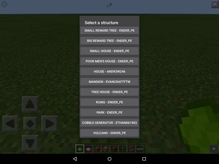 Instant Structure Mod Minecraft Pe Mods Addons