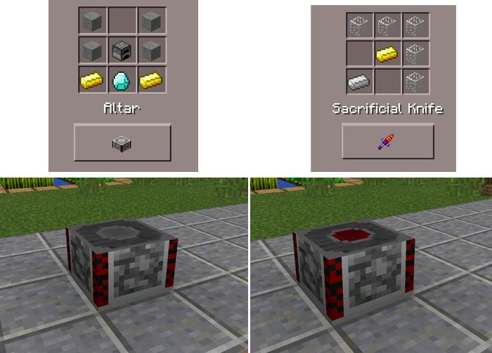 Blood Magic Pe Minecraft Pe Mods Addons
