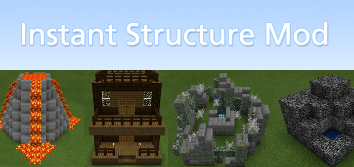 minecraft instant structures mod 1.13