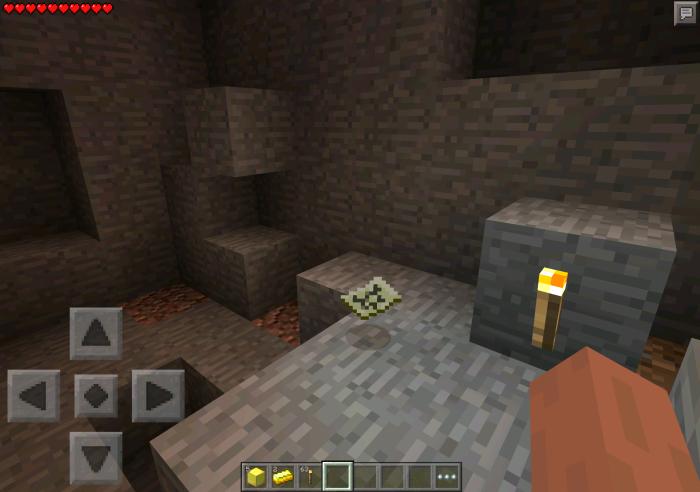 Buried treasure minecraft