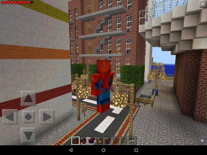 SpiderMan Mod Minecraft PE Mods Addons - Skins para minecraft pe para hombre