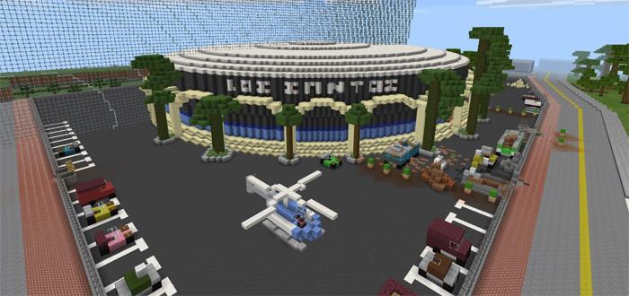 GTA San Andreas Creation  Minecraft PE Maps