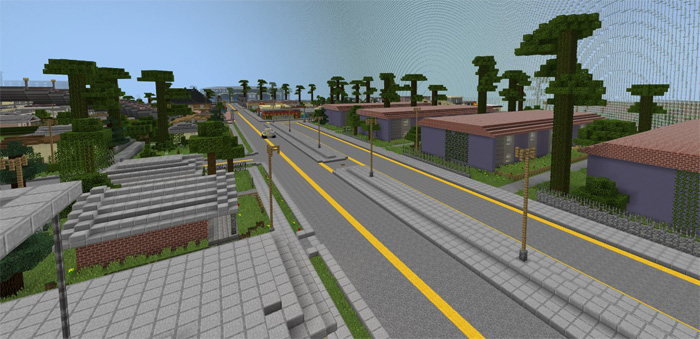 GTA San Andreas [Creation] | Minecraft PE Maps