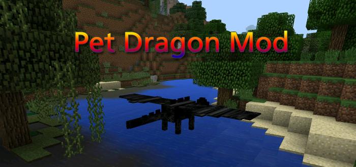 minecraft mod pet dragon