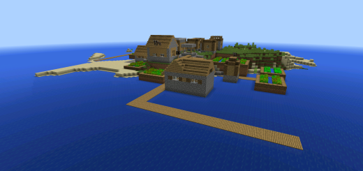 1421809520: Survival Island Village With Blacksmith