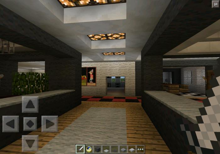 Redstone Powered Modern House Creation Redstone Minecraft PE