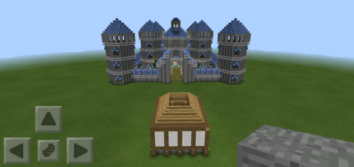 how to build a kingdom in minecraft pe