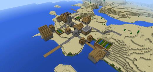 fan fiction: 8 Villages, Extreme Overhangs & Floating Islands