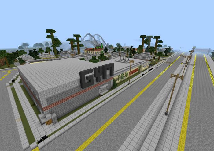 карта gta 5 для minecraft