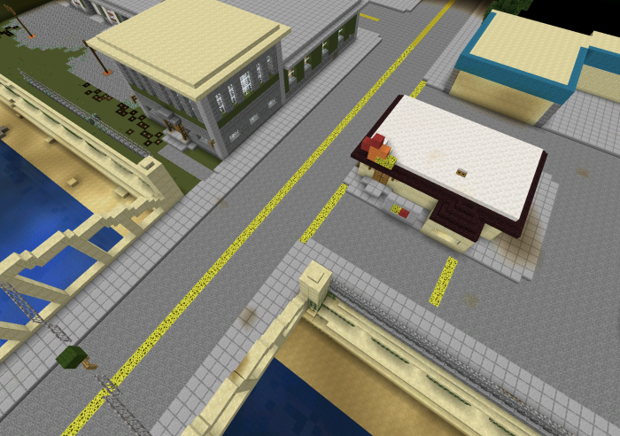 GTA San Andreas Creation Map For Minecraft PE 0121