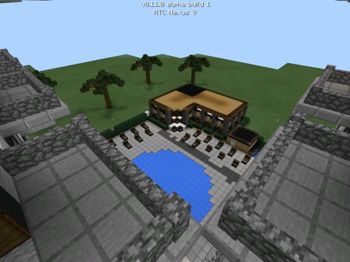 modern hotel [creation] | minecraft pe maps