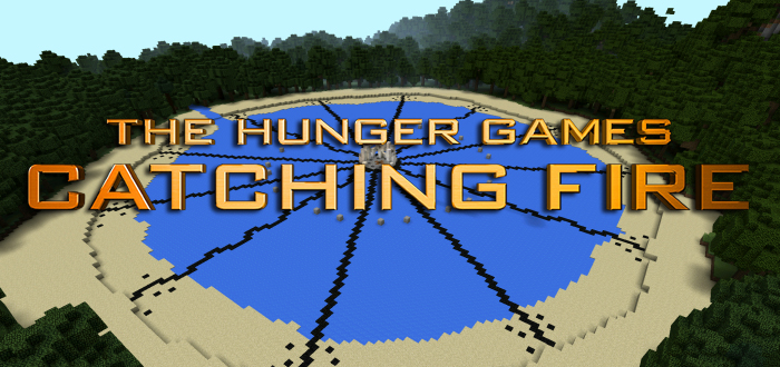 Catching Fire Arena [Creation] [PvP] | Minecraft PE Maps