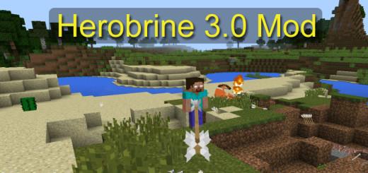 Herobrine 3.0 Mod