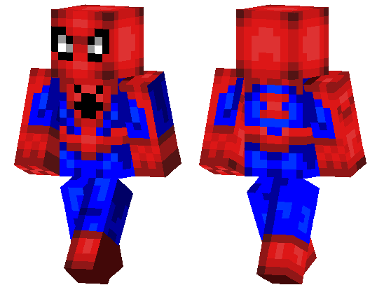 Search Results For Spider Man MCPE DL - Skins para minecraft pe de spiderman