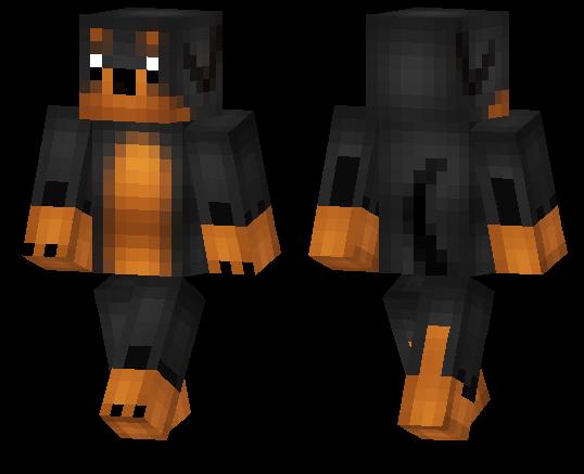 Minecraft PE Skins Page MCPE DL - Dog skins fur minecraft