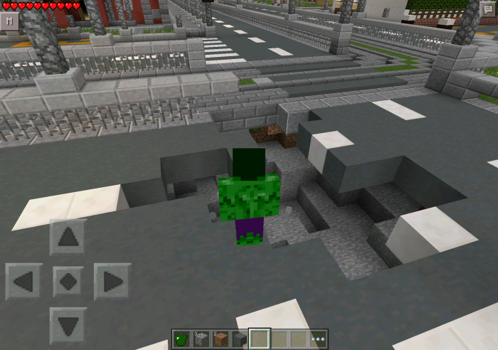 The Hulk Mod | Minecraft PE Mods & Addons