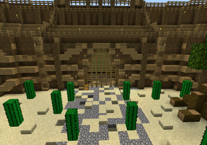 Roman Gladiators Arena [Creation] [PvP] | Minecraft PE Maps