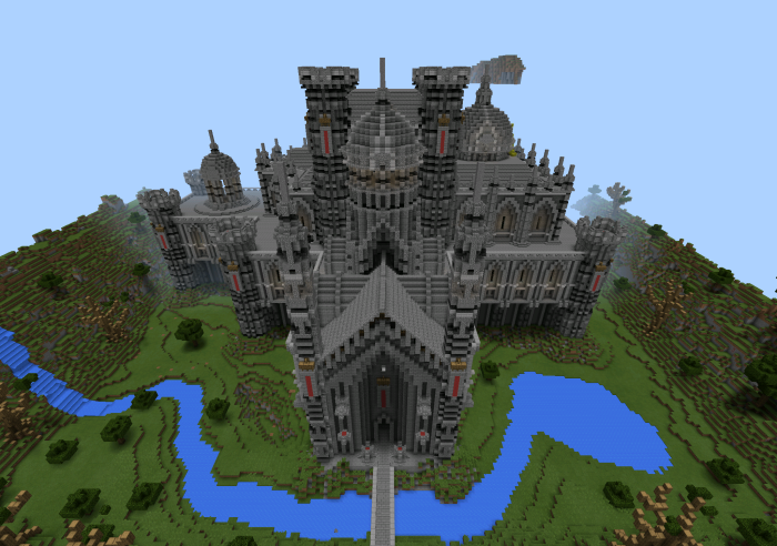 Gothic Castle Creation Minecraft Pe Maps