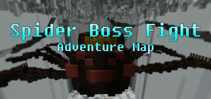 Spider Boss Fight [Adventure] | Minecraft PE Maps