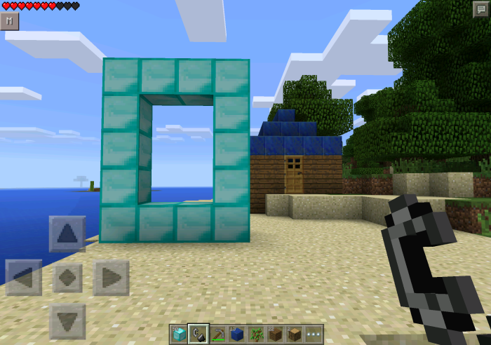 Diamond Portal Mod | Minecraft PE Mods & Addons