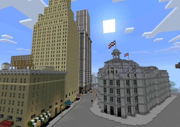 new york city map download minecraft