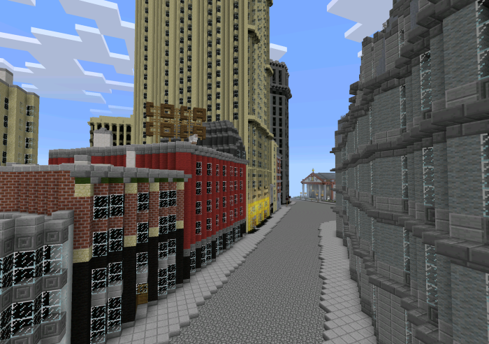 New York City Mini Creation Minecraft PE Maps - Sweden map minecraft download