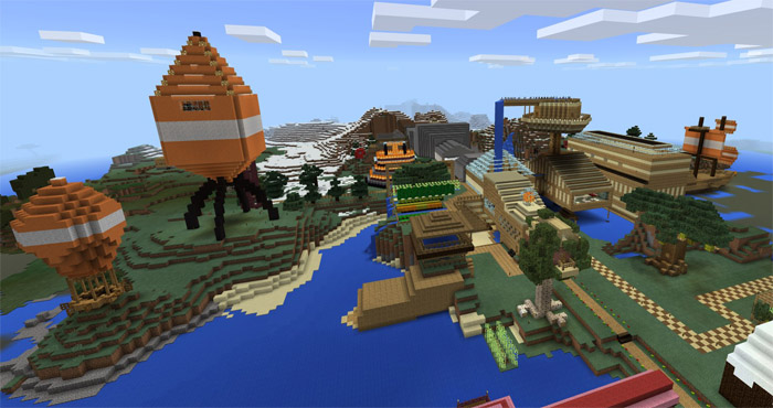 Stampys lovely world pe creation minecraft pe maps download world gumiabroncs Images