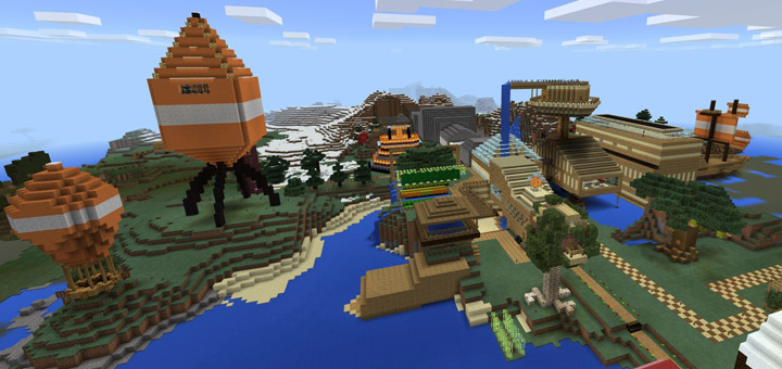 Stampy World Map.Stampy S Lovely World Pe Creation Minecraft Pe Maps
