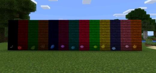 Colorable Planks Mod