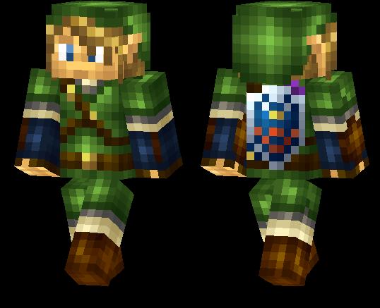 Minecraft PE Skins Page MCPE DL - Skins para minecraft pe zelda