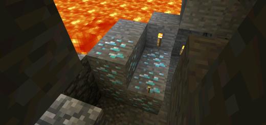 -179506122: Diamonds & Mineshaft Under Spawn