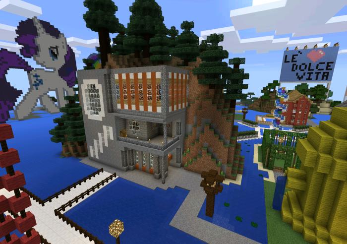 Best Village Ever Creation. Biggest House ...