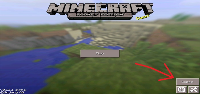 how to use shears in minecraft pe