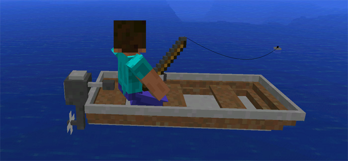 Mech mod minecraft pe mods addons for How to fish in minecraft pe