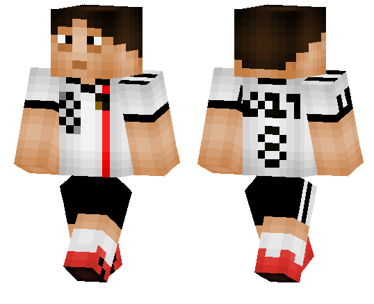 Search Results For Soccer MCPE DL - Skin para minecraft pe de messi