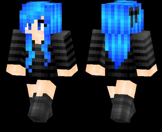 Minecraft PE Skins Page MCPE DL - Skins para minecraft pe girl