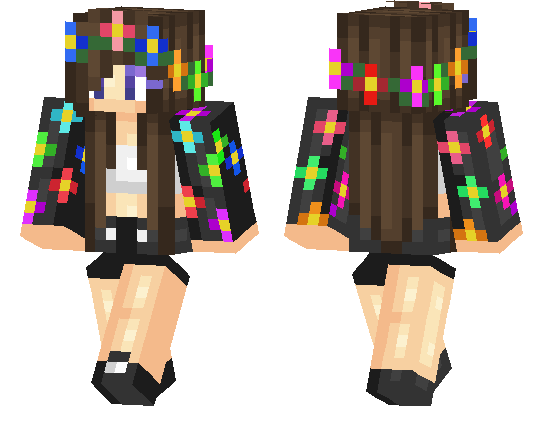 Minecraft pe skins page 18 mcpe dl - Cool girl skins for minecraft pe ...
