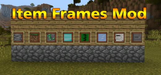Item Frames Mod