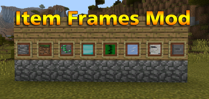 Item Frames Mod | Minecraft PE Mods & Addons