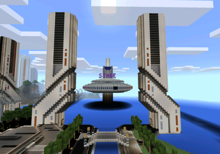 Future City Creation Minecraft PE Maps - Mapas para minecraft pe 0 15 1 en español