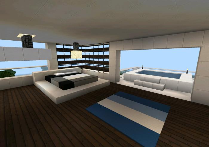 Modern Bedroom Ideas For Minecraft Pe Best 2017