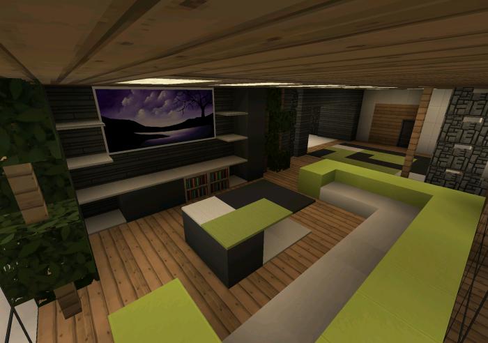 Case Moderne Minecraft : Casa moderna creation minecraft pe maps