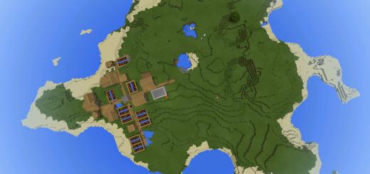 20018: Island Village With Blacksmith