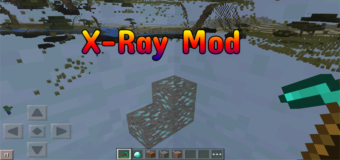 X Ray Mod Minecraft PE Mods Addons