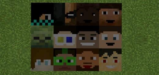 Youtubers Blocks Mod