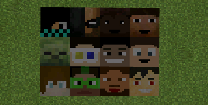 Youtubers blocks mod minecraft pe mods addons youtubers sciox Image collections