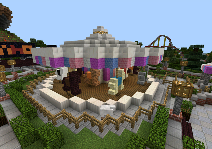 map funfair minecraft