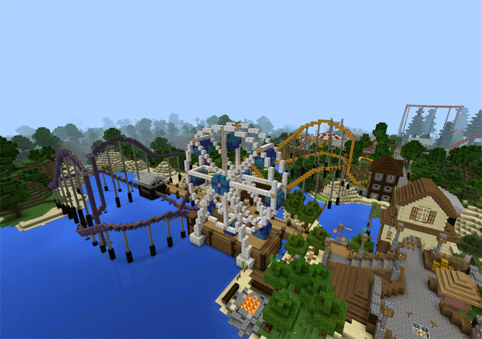 torque amusement park creation roller coaster