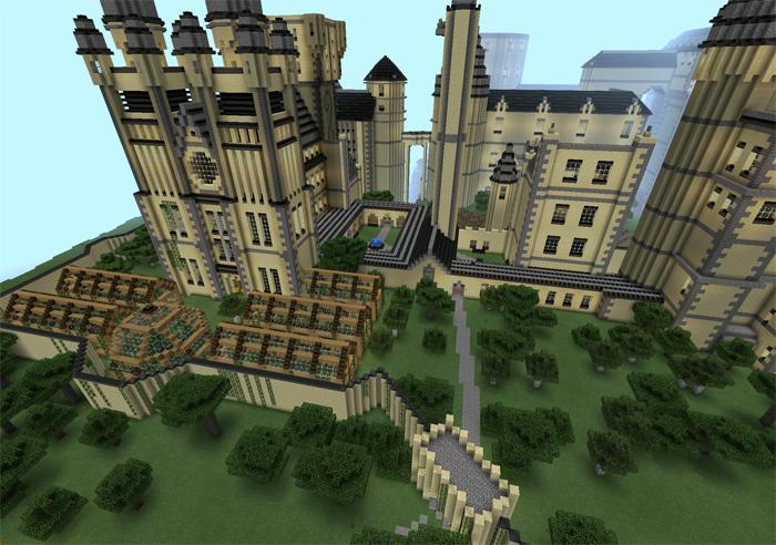 Hogwarts Creation Minecraft PE Maps - Minecraft maps download fur handy