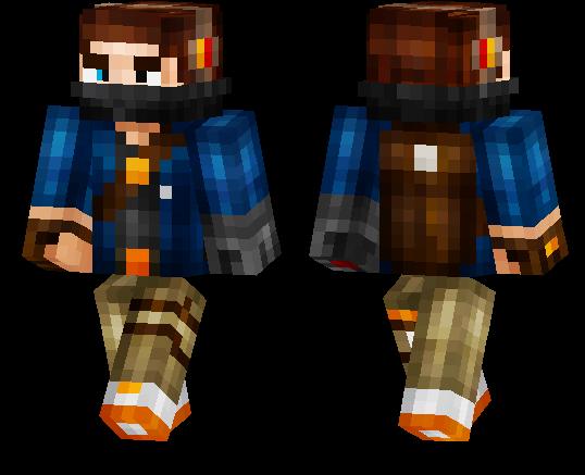 Minecraft PE Skins Page MCPE DL - Skins para minecraft pe boy